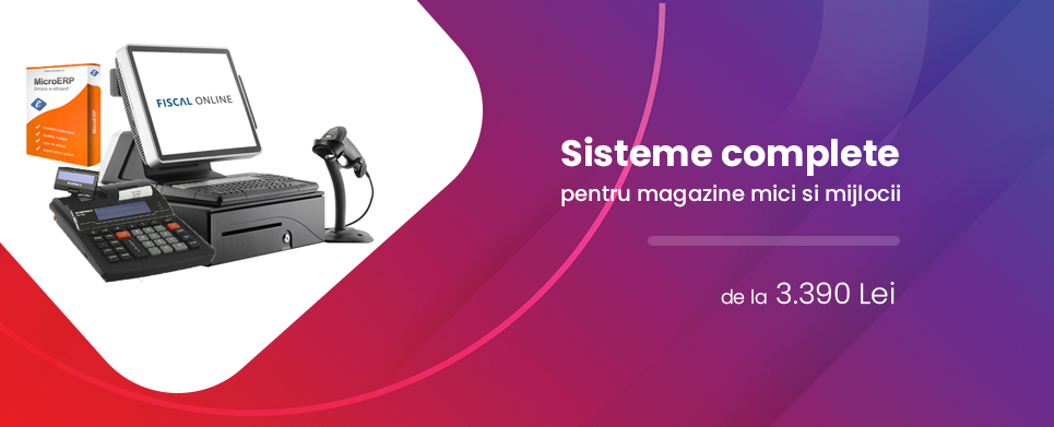 Sisteme complete FISCAL ONLINE